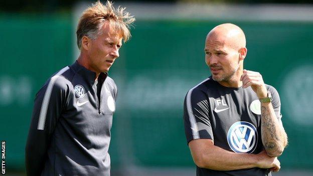 Freddie Ljungberg and Andries Jonker
