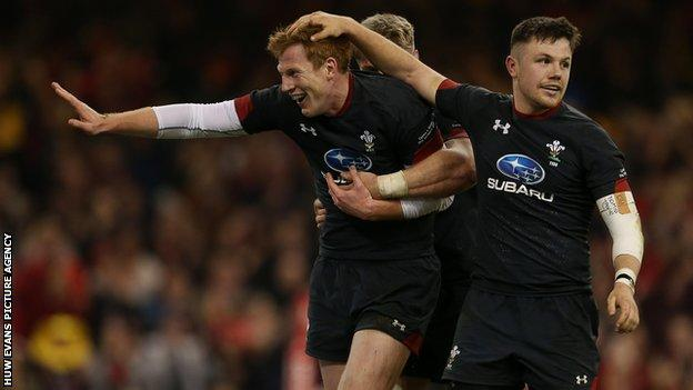 Rhys Patchell scored a try and kicked four conversions in Wales' autumn win over Tonga