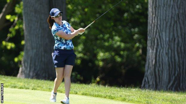 Leona Maguire in action