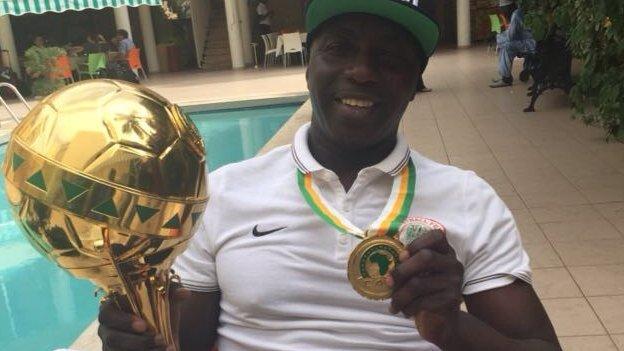 Nigeria under-23 coach Samson Siasia