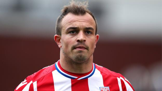 102479705 xs - Xherdan Shaqiri: Liverpool signal Stoke forward after triggering release clause