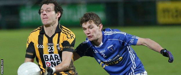Jamie Clarke came on as a substitute during the Ulster Club final win over Scotstown