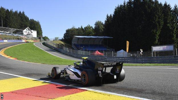 Formula 2 crash: Belgian Grand Prix support race cancelled after serious accident