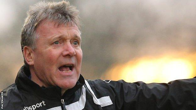 Kieran Harding has taken over as manager of Carrick Rangers