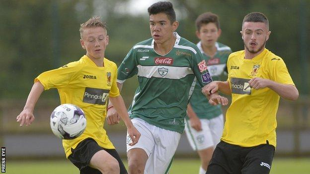 County Antrim Juniors beat Zacatepec 3-0 in their second match on Tuesday