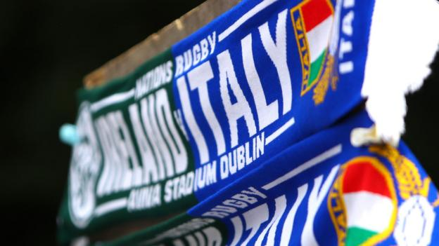 Coronavirus: Italy's Six Nations matches against Ireland and England could be under threat