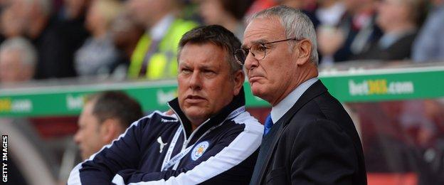 Craig Shakespeare and Claudio Ranieri