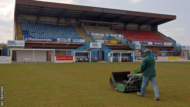 Weymouth's Bob Lucas Stadium