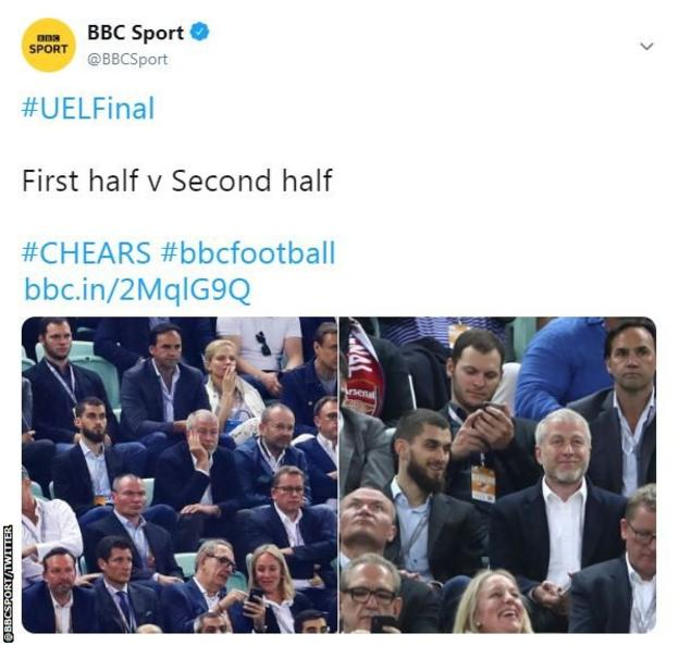 All five goals were scored in the second half