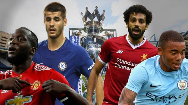Premier league 2017 18 phil mcnulty predicts who will finish where bbc sport - Bbc football league 1 table ...