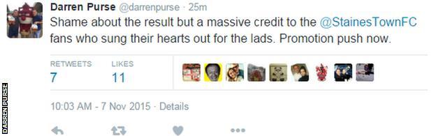 Darren Purse Tweet