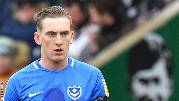 Ronan Curtis has scored 12 goals in 42 appearances for Portsmouth so far this season