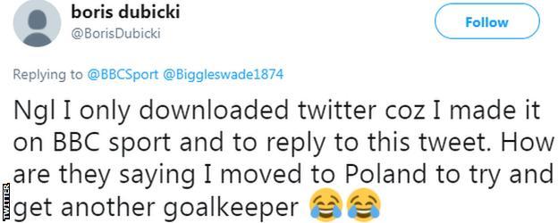 Boris Dubicki on Twitter