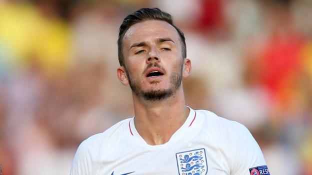 European Under-21 Championship: England U21s lose to late Romania flurry thumbnail