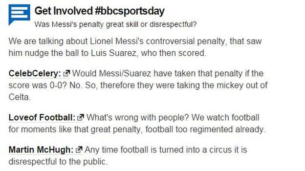 Monday's BBC Sportsday debate highlighted football fans' divided opinion