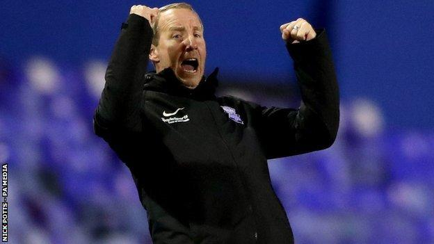 After going four months without a home win, Blues' victory in Lee Bowyer's first game in charge was actually their second in less than three weeks