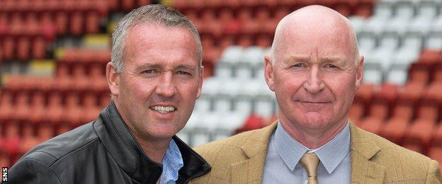 Paul Lambert and John Brown