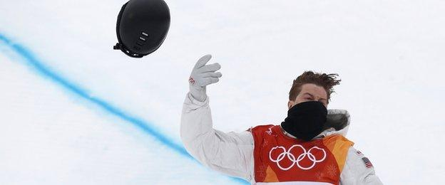 Emotional White wins historic third halfpipe gold - video & report