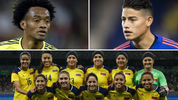 Colombia women's players alleging discrimination receive men's team's support thumbnail
