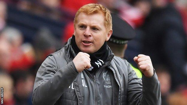Celtic interim manager Neil Lennon