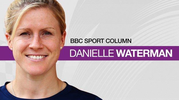 England full-back Danielle Waterman