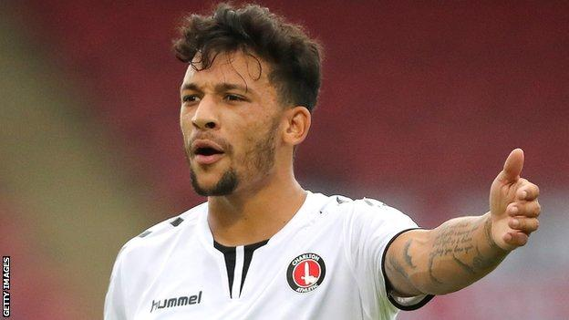 Charlton Athletic's Macauley Bonne
