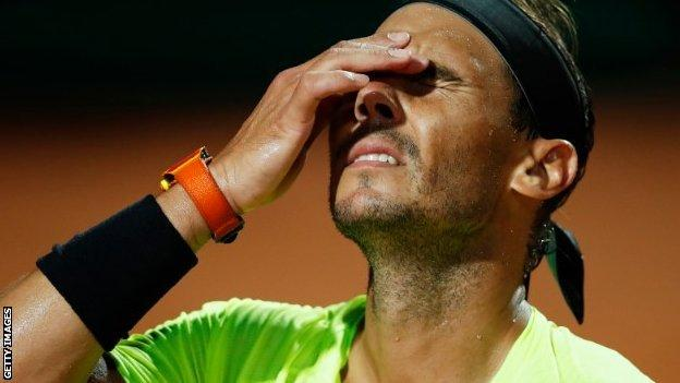 Nadal had won the Rome Open on nine occasions before bowing out in the quarter-finals