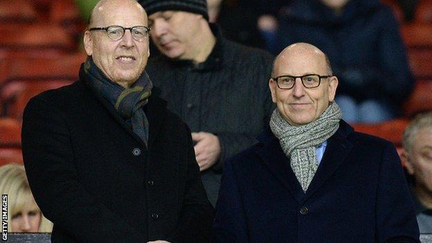 Avie and Joel Glazer Manchester United