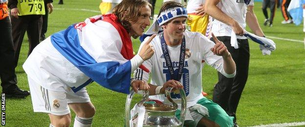 Modric and Bale