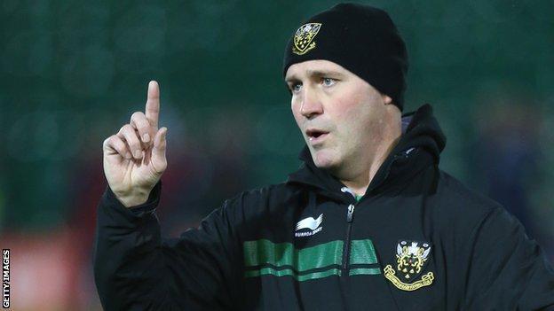 Northampton backs coach Alex king