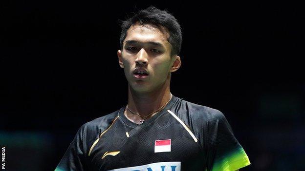 Indonesia's Jonatan Christie