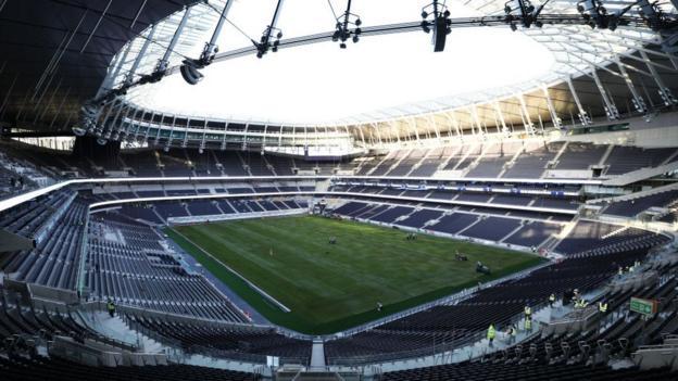 Тоттенхэм: новый стадион не готов, по крайней мере до марта