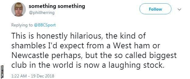 Tweet from Phil Herring