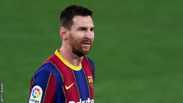 Barselona'nın Lionel Messi