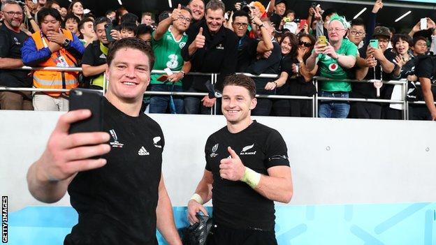Scott and Beauden Barrett