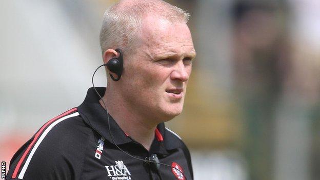 Derry manager Damian McErlain
