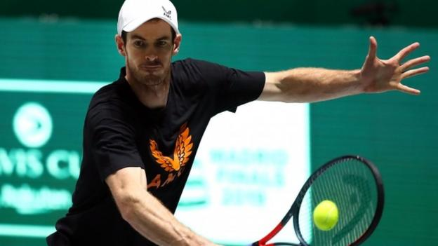Andy Murray not named in Great Britain's Davis Cup team for quarter-final thumbnail