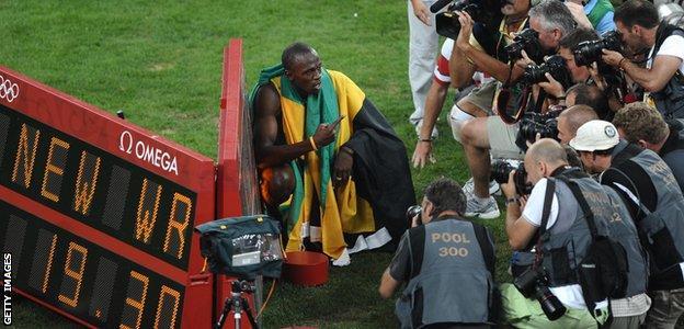Usain Bolt 200m final, 2008