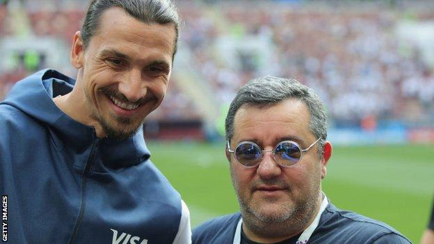 Zlatan and Raiola