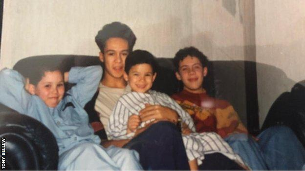 Bellew and his brothers