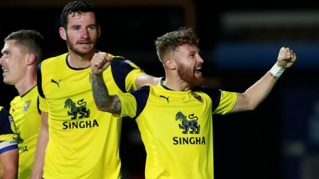 Oxford United 4-0 West Ham: League One side pull off shock thumbnail