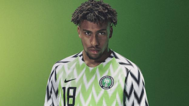 3931640aa6d World Cup 2018: Nigeria kit sells out after three million pre-orders - BBC  Sport