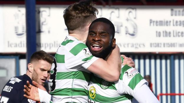 Dundee 0-1 Celtic: Odsonne Edouard goal moves leaders 10 points clear thumbnail