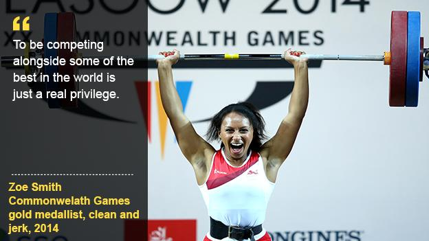 Zoe Smith Great Britain weightlifter