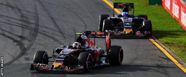 Sainz and Verstappen
