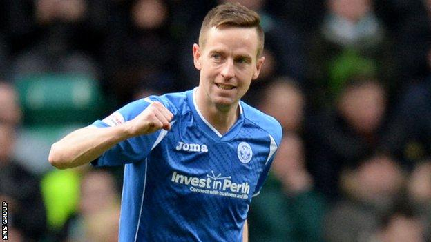 Steven MacLean is rested when St Johnstone play on artificial surfaces