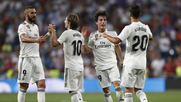 La Liga: 'No problem' if Real Madrid do not play league match abroad - BBC Sport