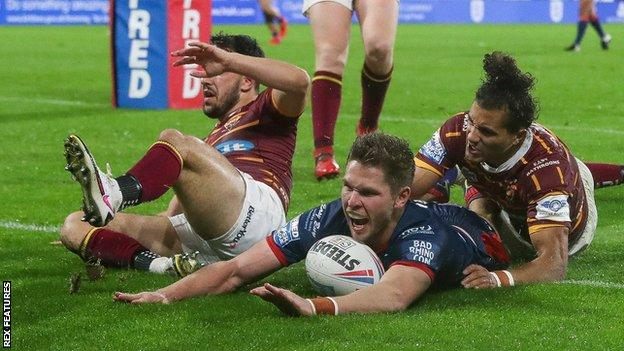 Matt Parcell has scored four tries in his past three Super League games for Hull KR