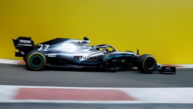 Abu Dhabi GP: Bottas top despite bizarre Grosjean crash thumbnail