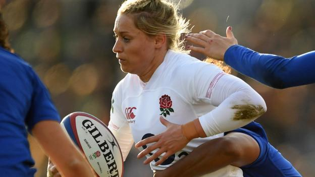 England women: Red Roses make five changes for Italy match